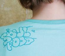 Soulfood – flyer, shirt, board
